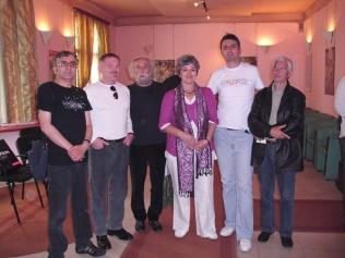 Sa M. Ali Migdadijem, S. Begovićem, J. Ostijem, E. Hamzić i f. Kajevićem
